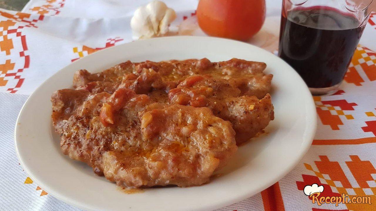 Šnicle u paradajz sosu (2)