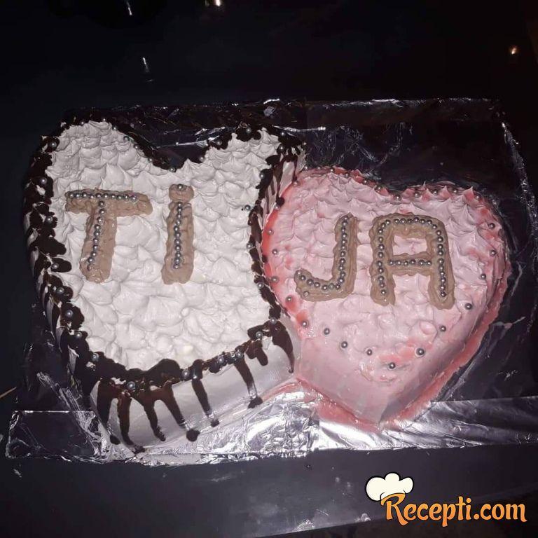 Pijesak torta na moj način