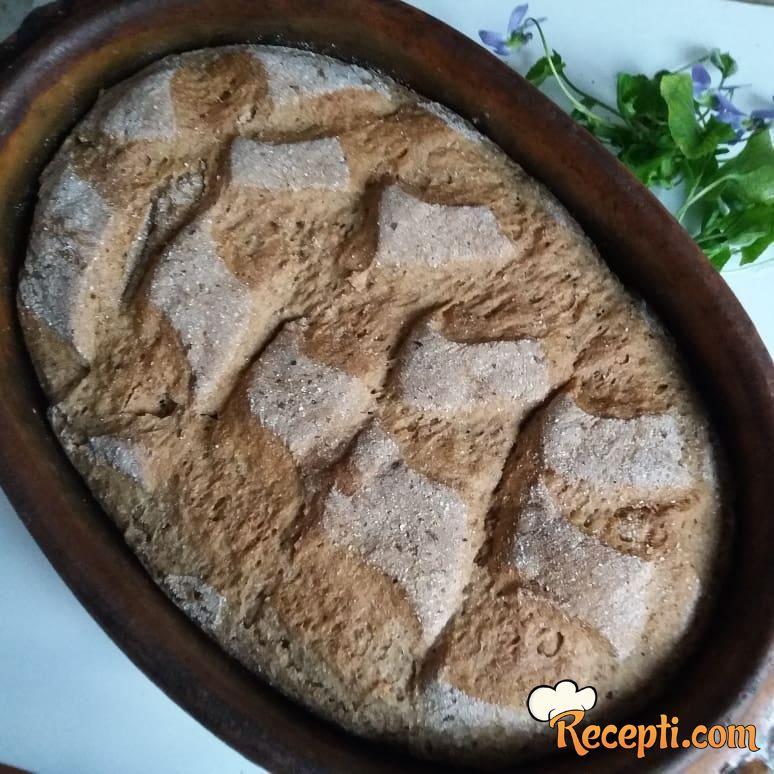 Hleb od speltinog i heljdinog brašna
