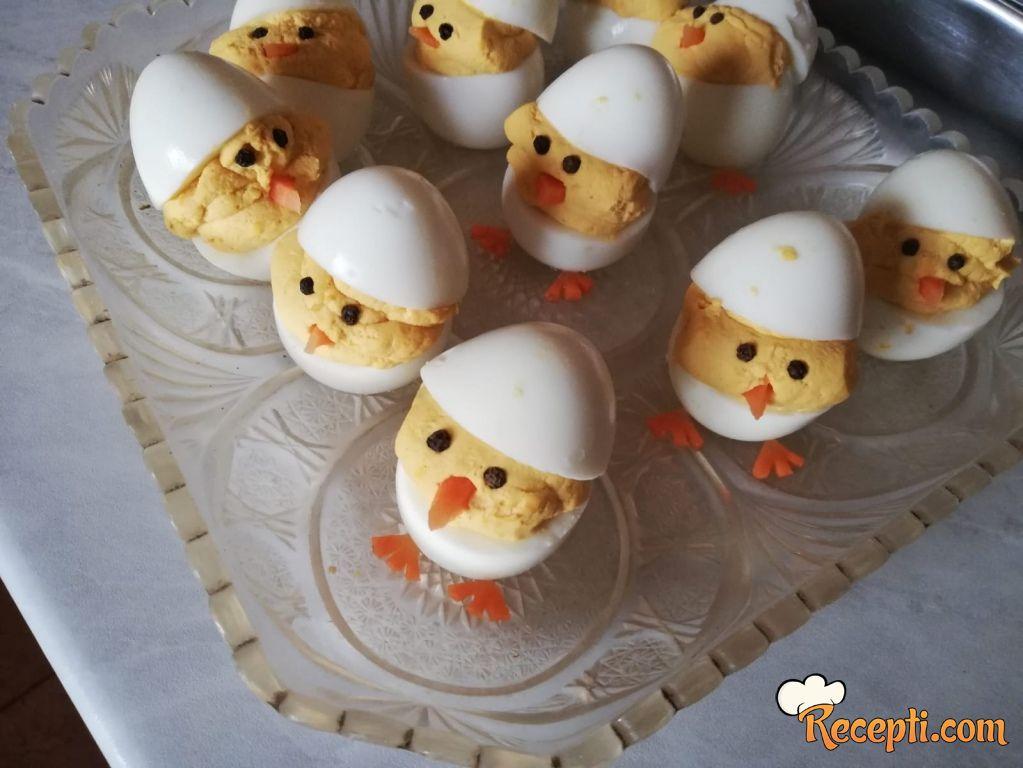 Pilići od kuvanih jaja
