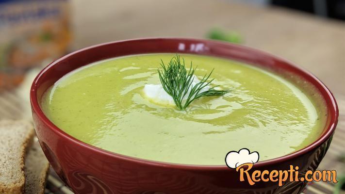 Potaž od karfiola i brokolija