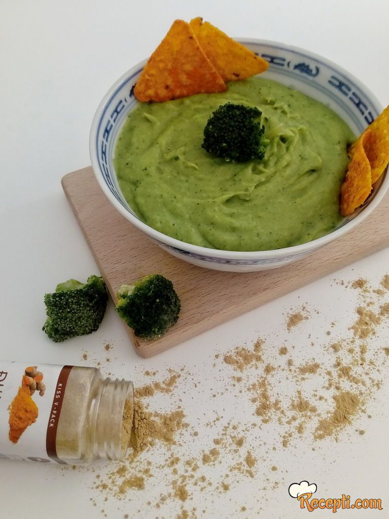 Namaz od brokolija sa đumbirom