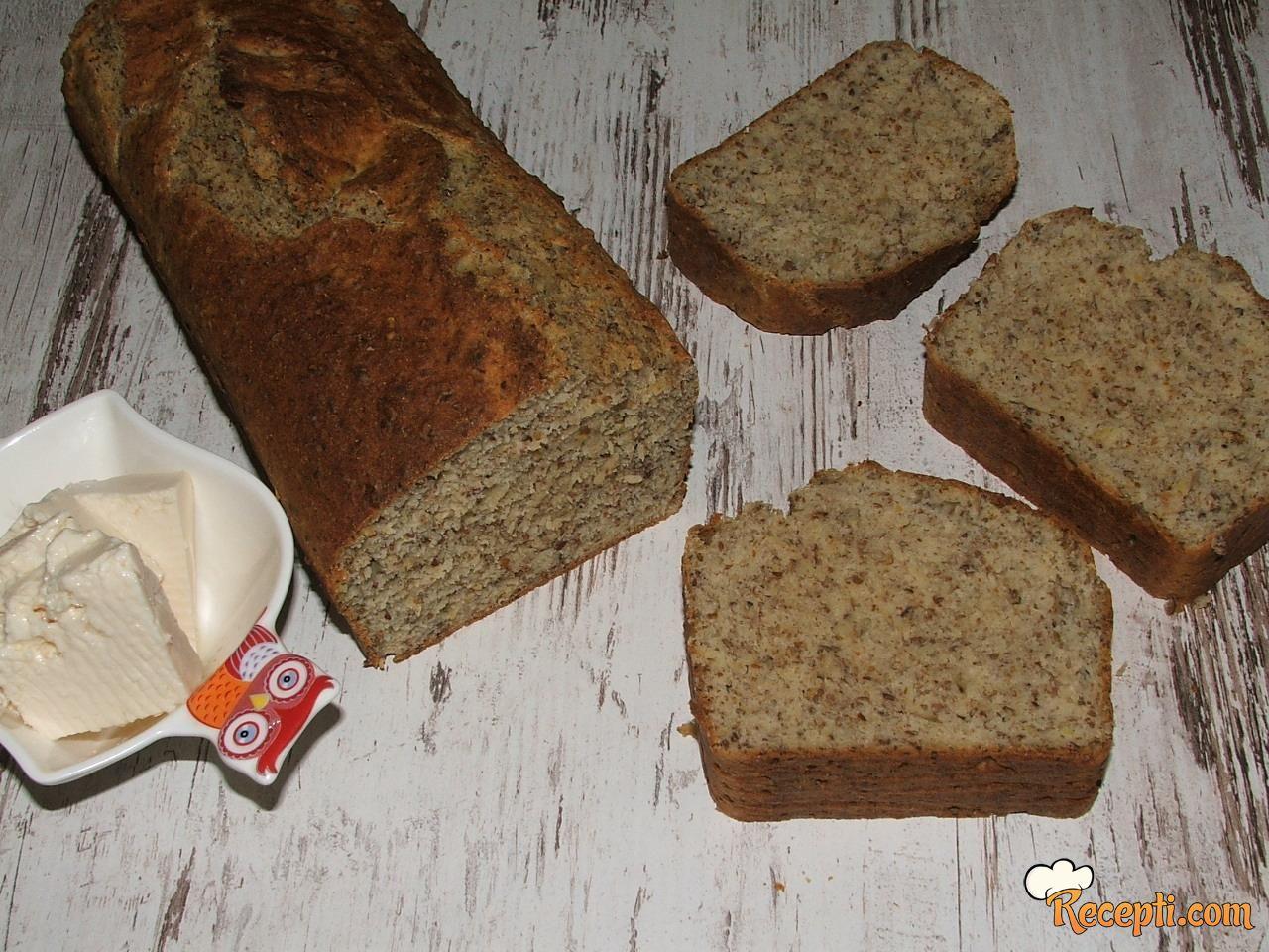 Laneni brzi hleb