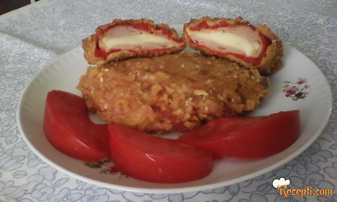 Pohovana punjena paprika