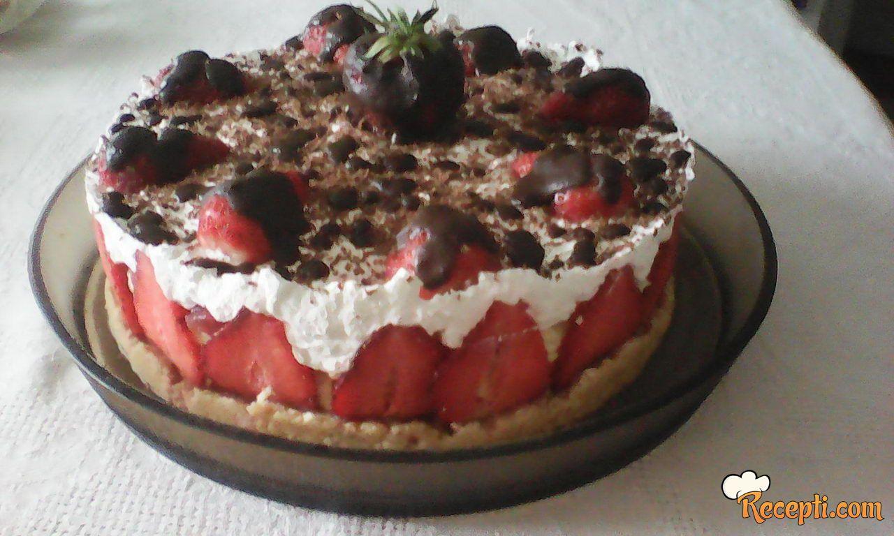 Torta s jagodama (2)