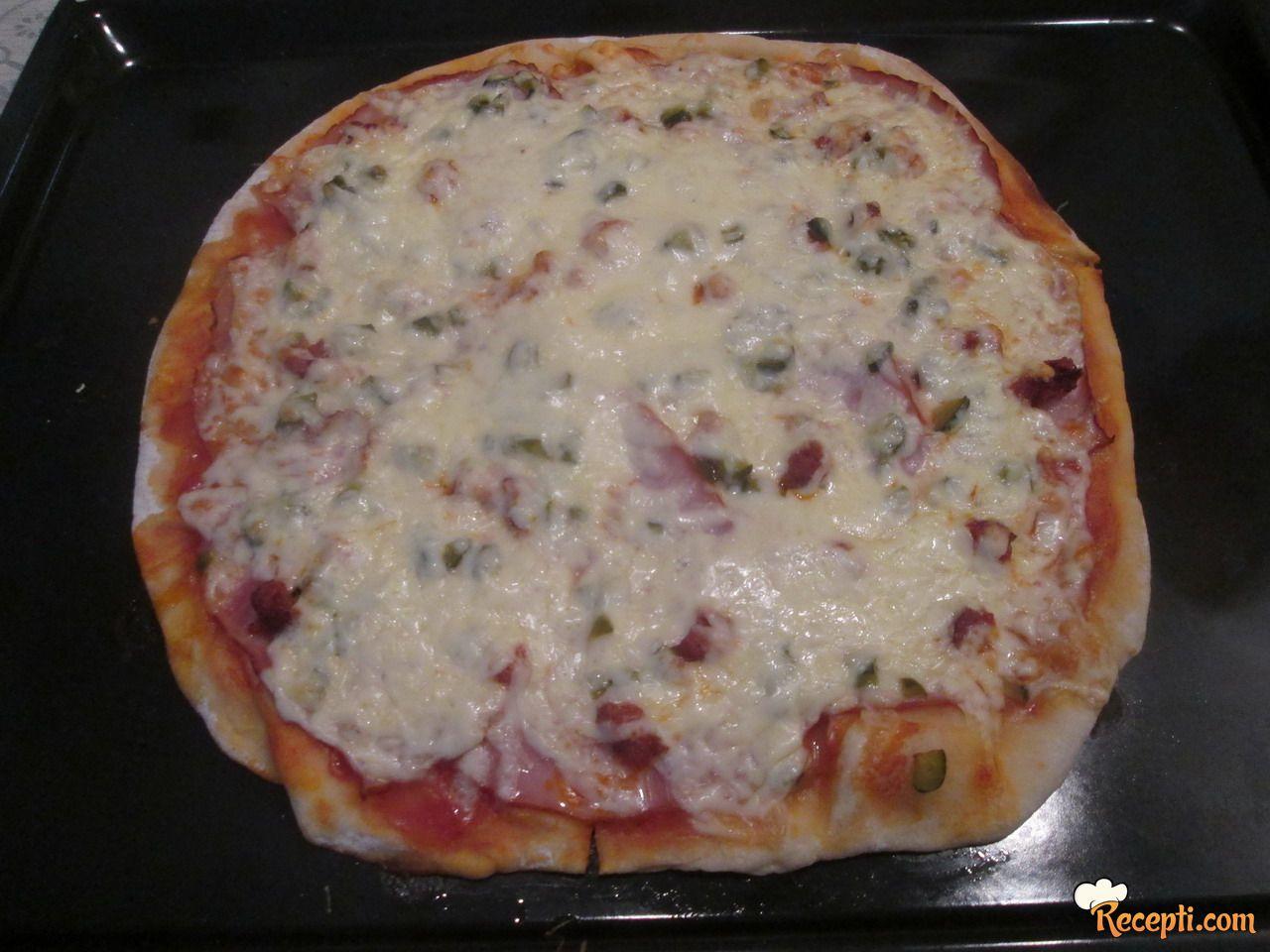Pizza testo za zamrzivač