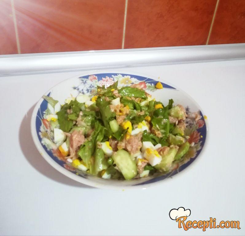 Brza salata sa tunjevinom