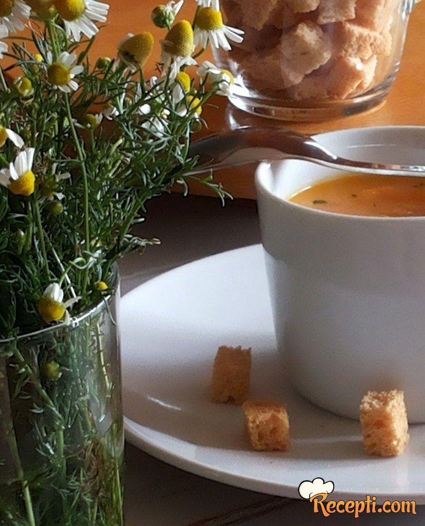 Krem supa od šargarepe