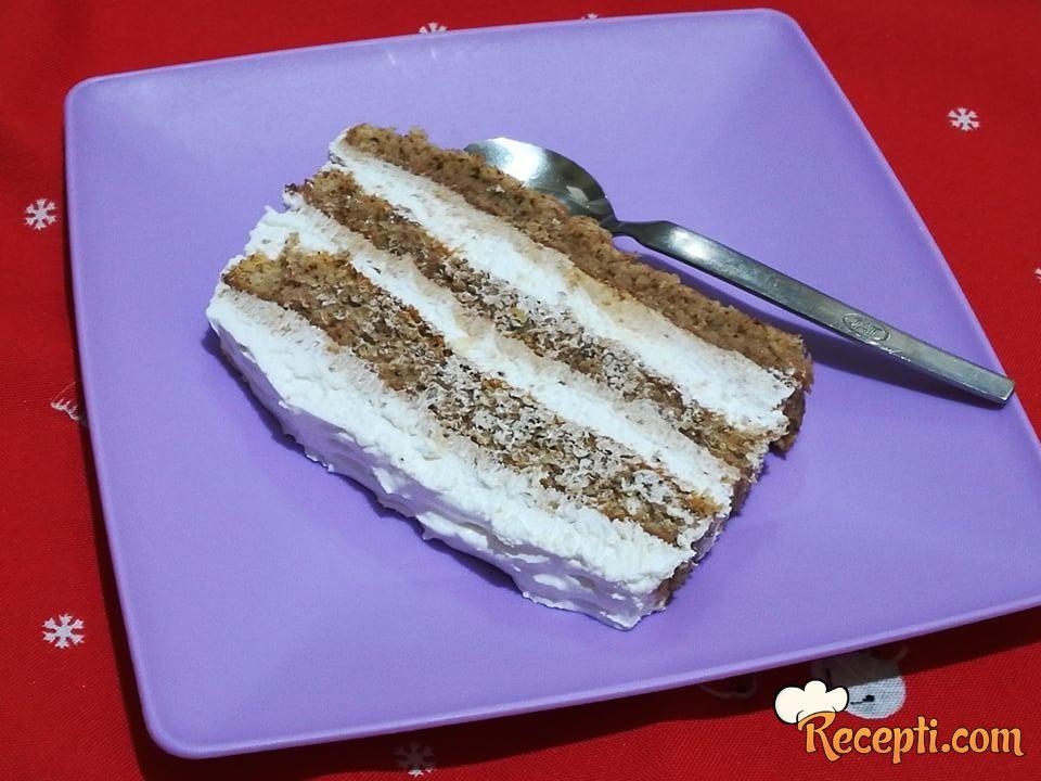 Torta sa plazmom i pavlakom