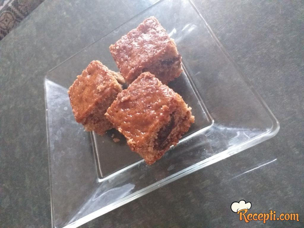 Najjednostavniji kolač sa cimetom i džemom