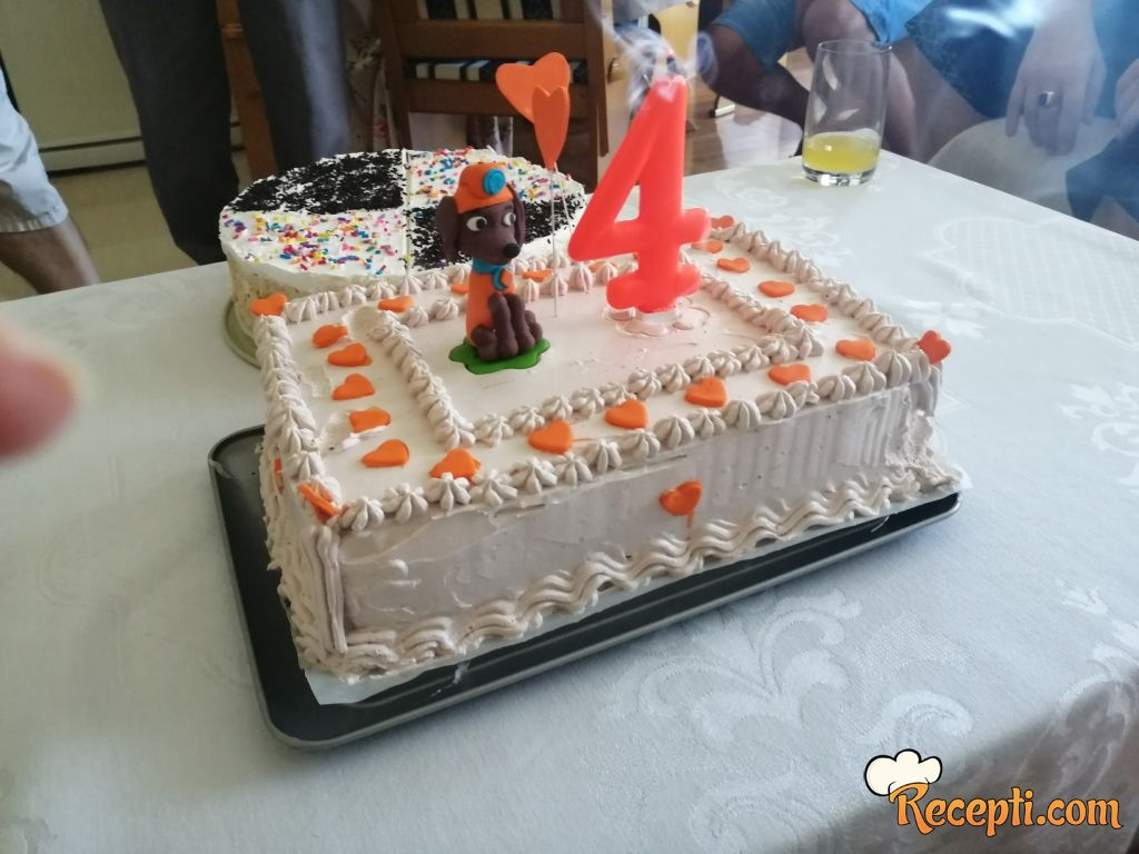 Čokolada torta sa plazmom