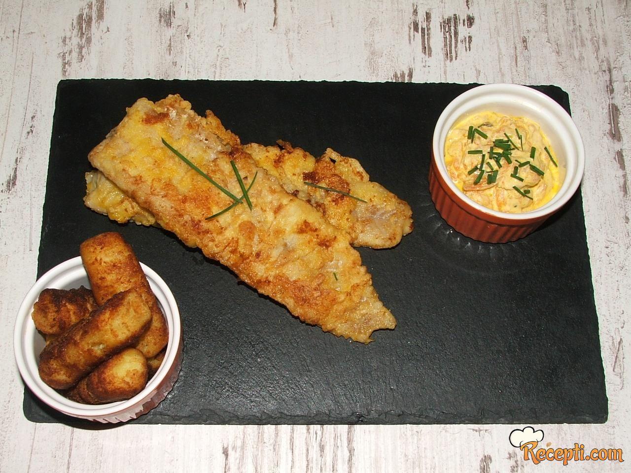 Pohovani fileti ribe