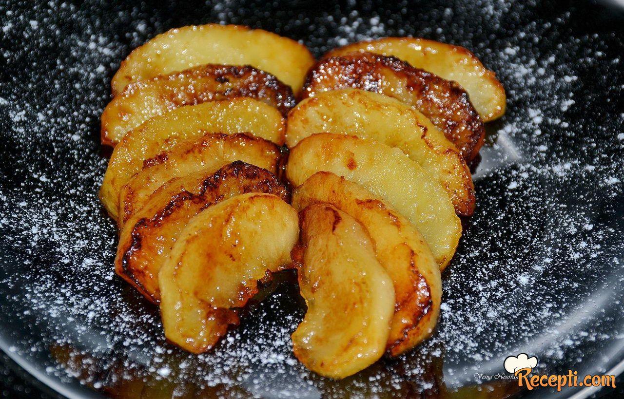 Pržene jabuke