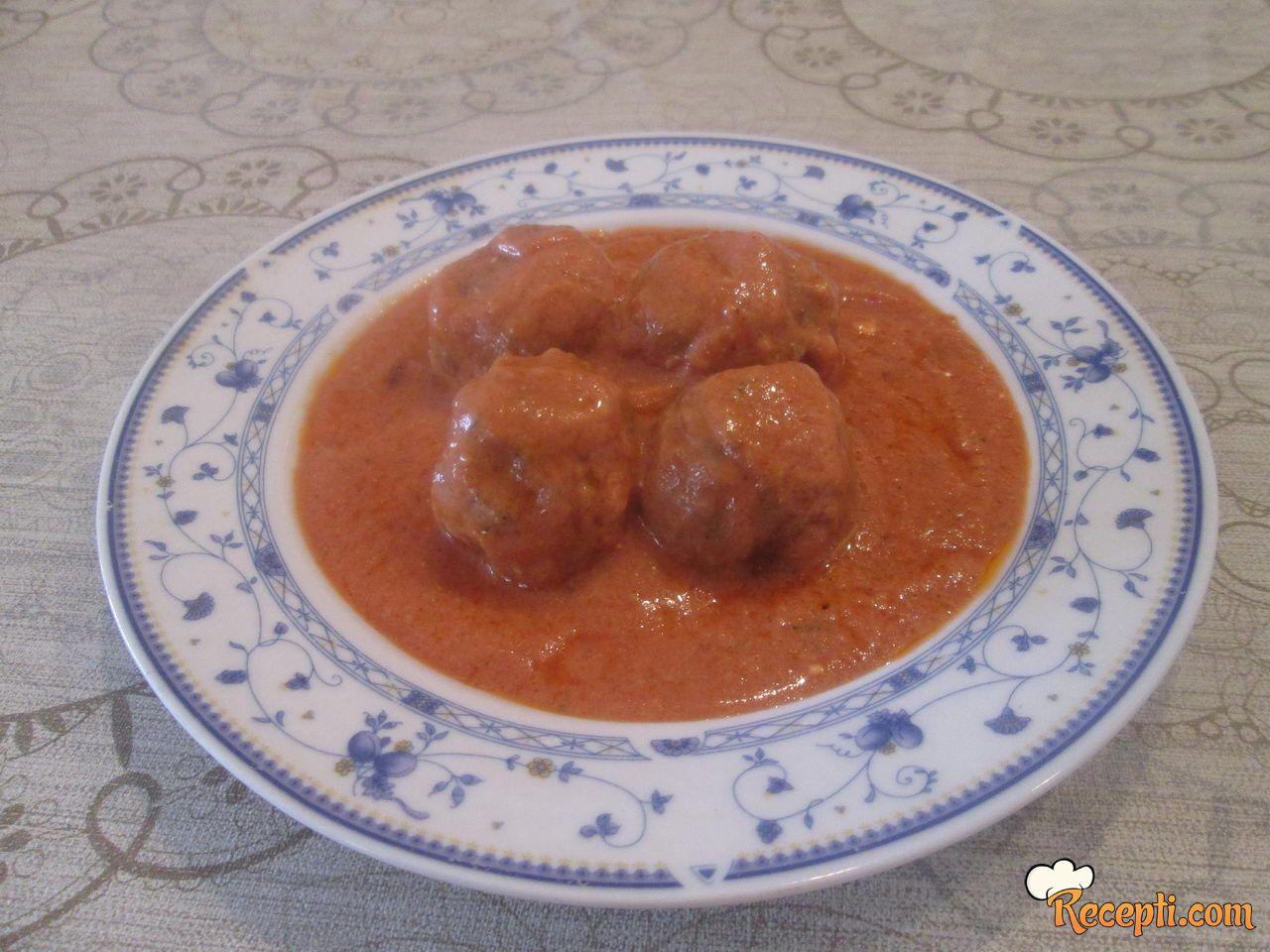 Ćufte u pikantnom sosu