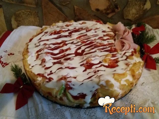 Torta sa makaronama (2)