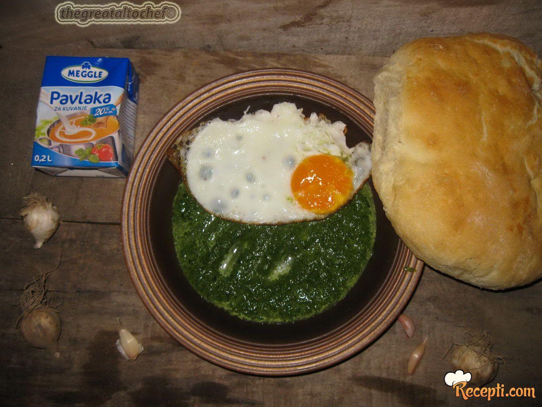 Iranska čorba od spanaća