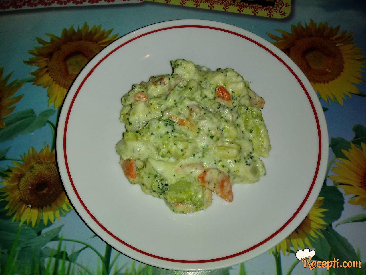 Brokoli i karfiol kao prilog