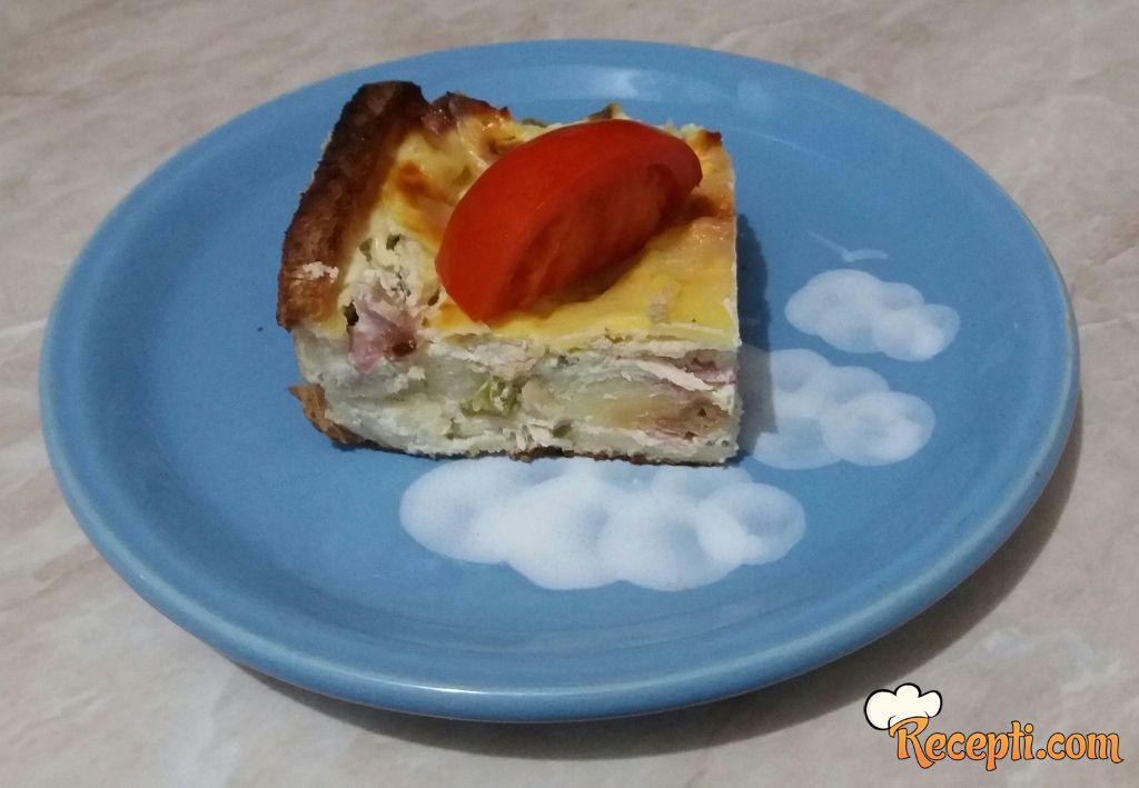 Slana tost pita