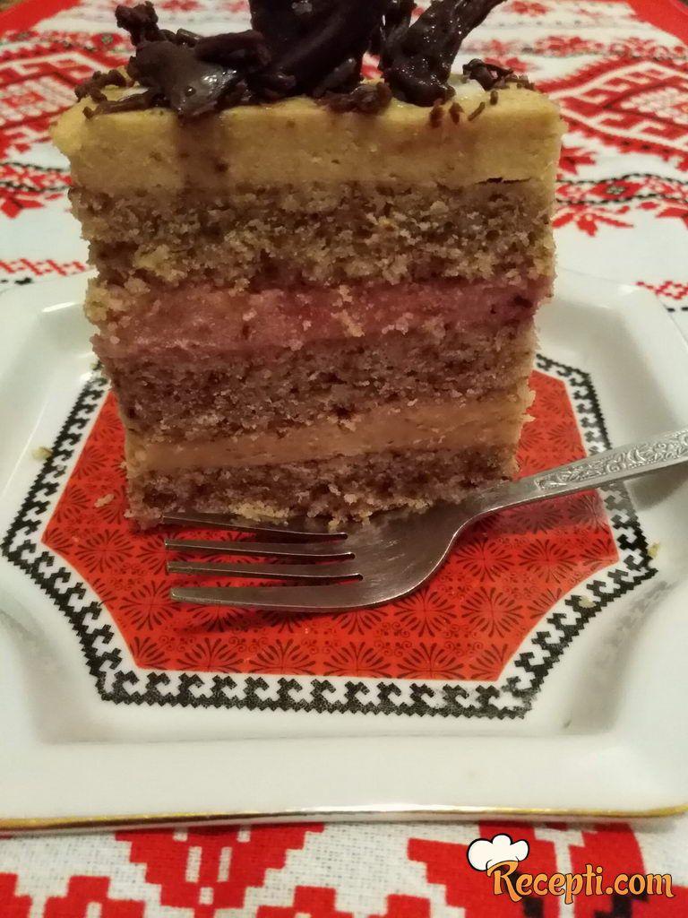 Posna jamb torta