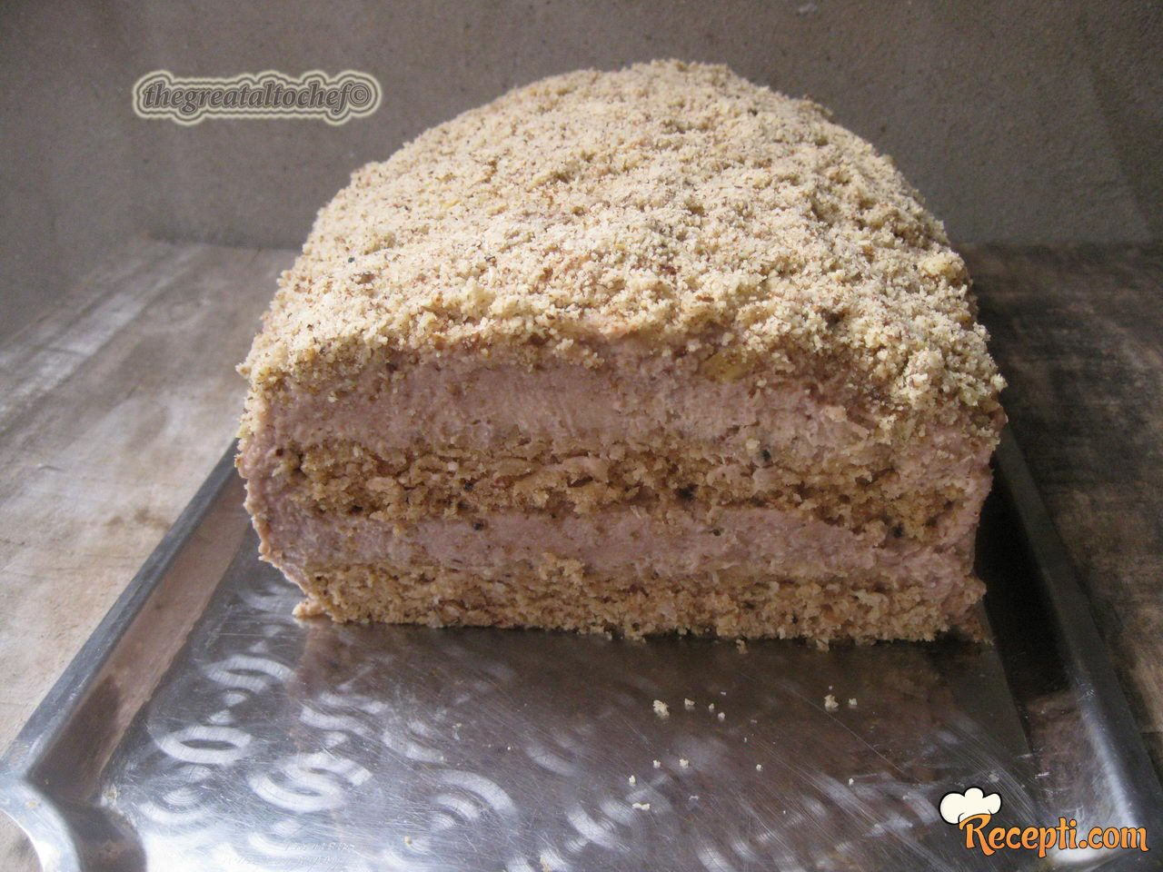 Manastirka posna torta