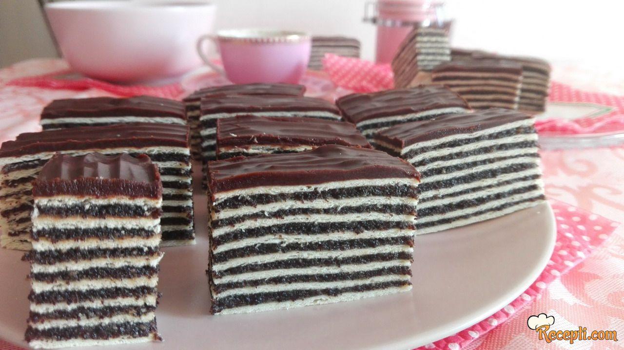 Rozen kolač sa makom