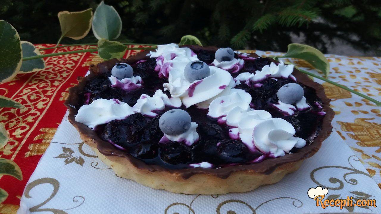 Mini tart sa borovnicama