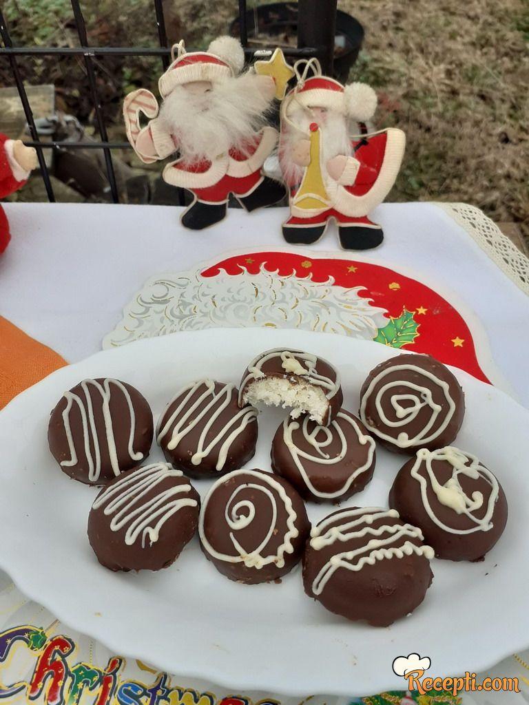 Čokoladice sa kokosom