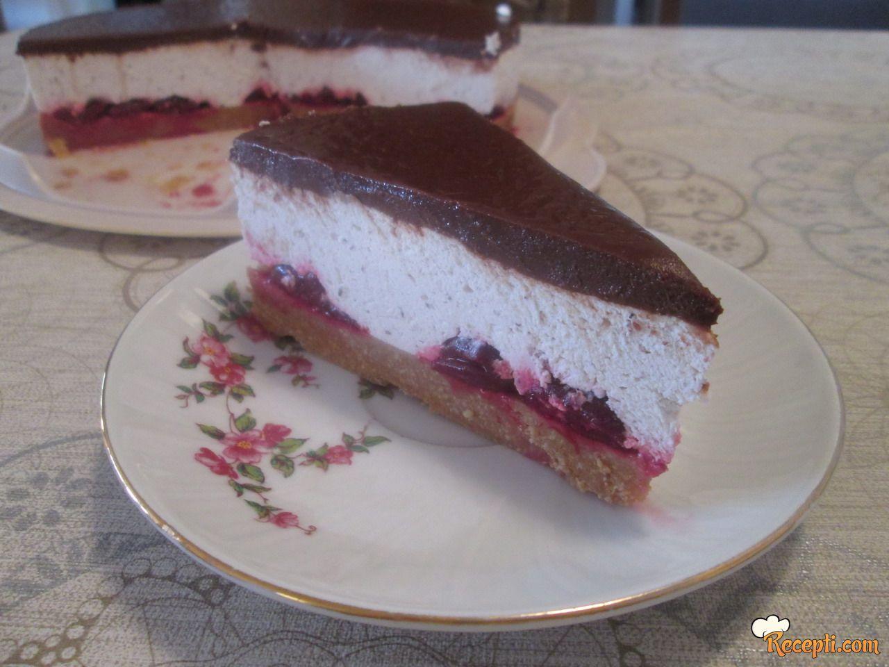 Voćna torta sa kesten pireom