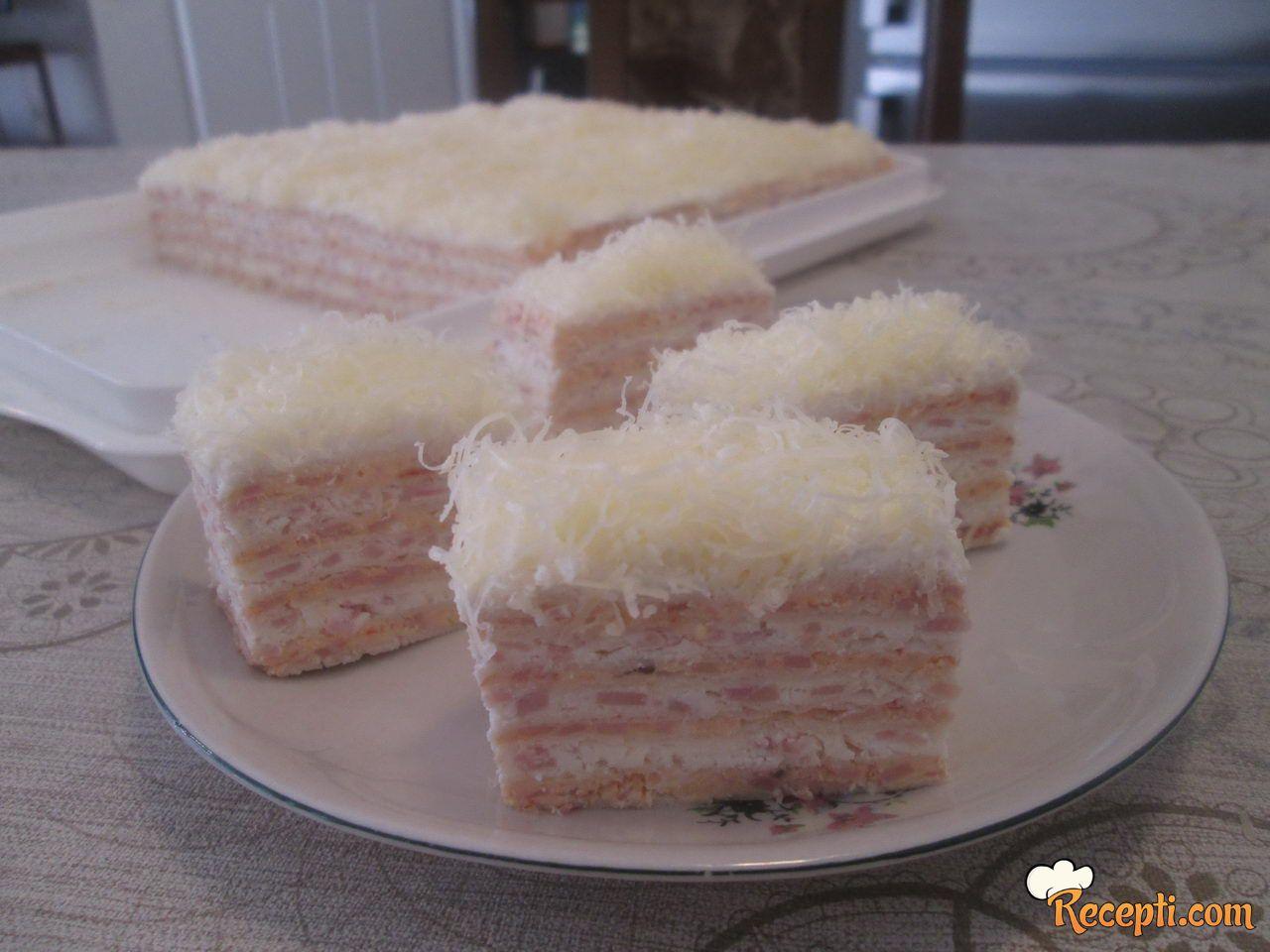Slana torta sa rozen koricama