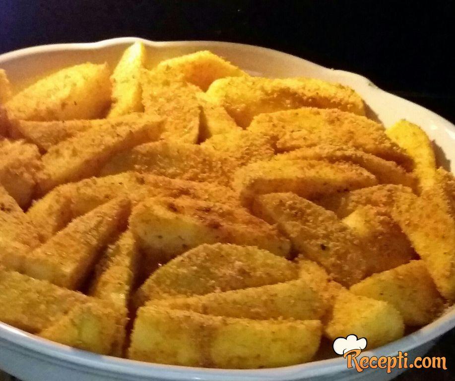 Krompir u palenti
