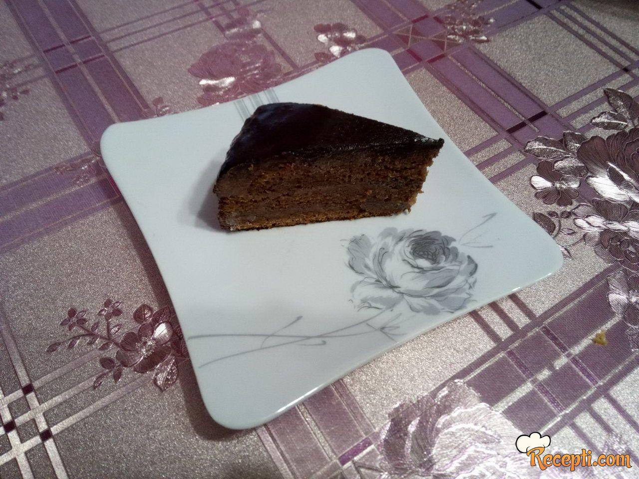 Sočna torta sa orasima