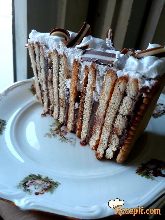 Prugasta keks čokoladna torta