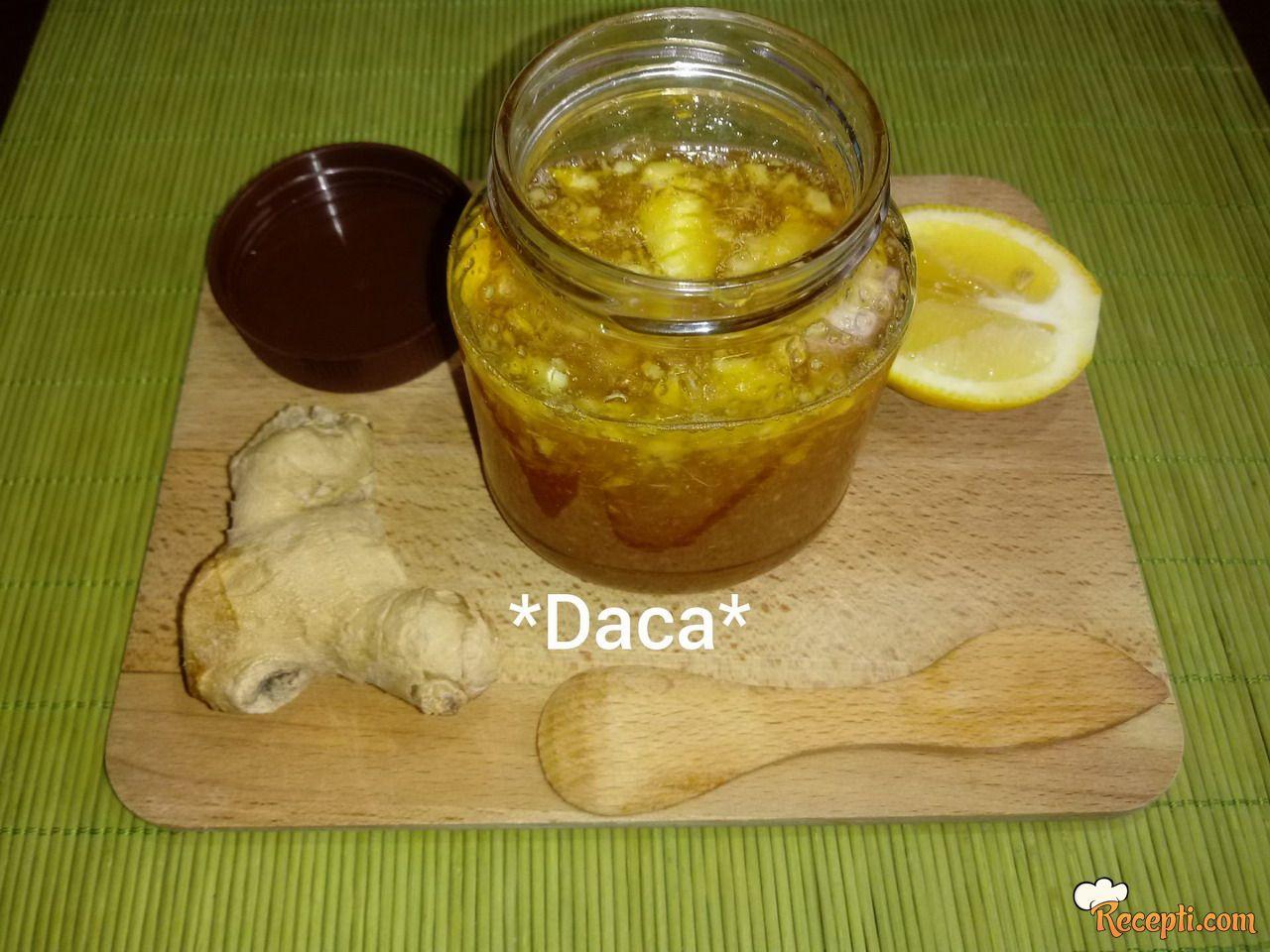 Vitaminska bomba od meda,djumbira i limuna