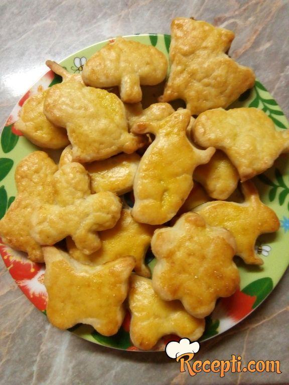 Uskršnji slani kolačići