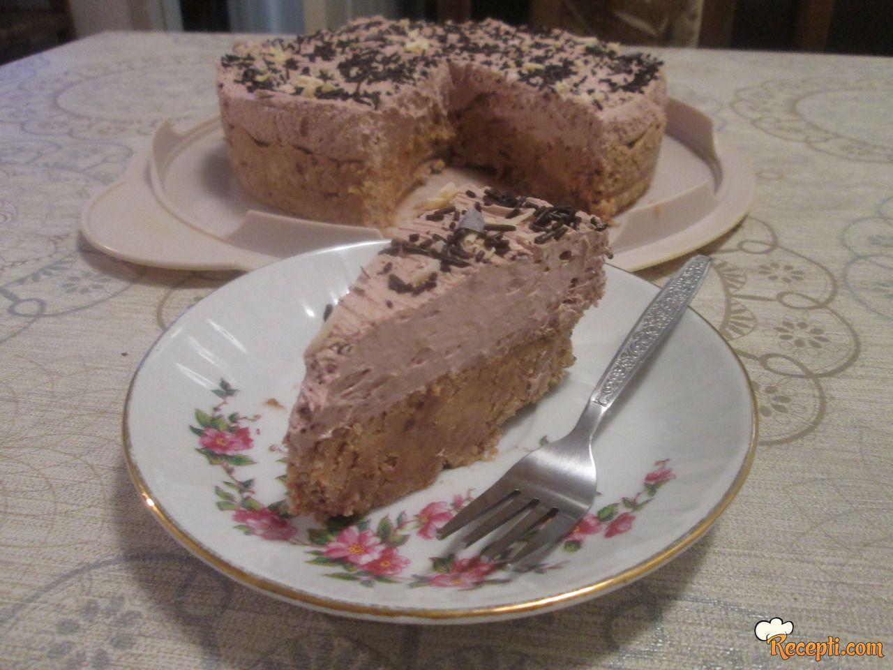 Torta sa čokoladnom alvom