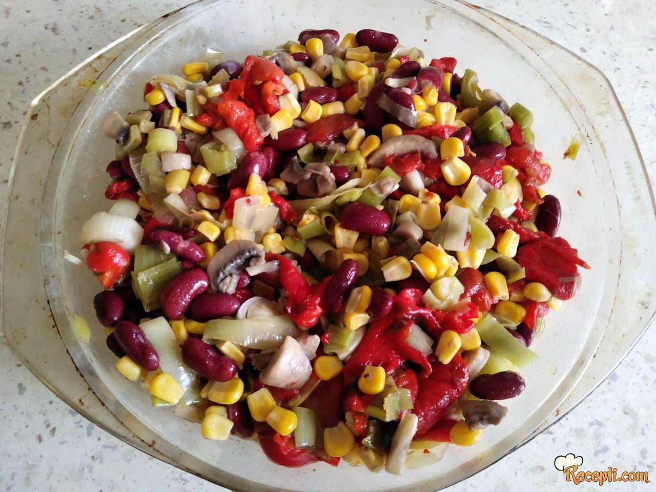 Meksička domaćinska salata