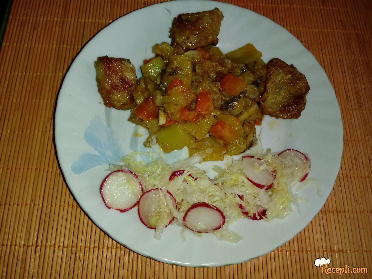 Prilog od povrća