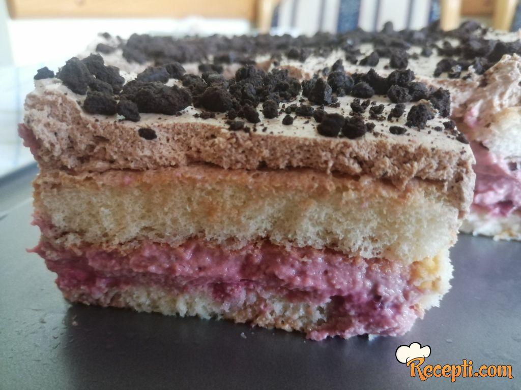 Voćno-čokoladna tortica