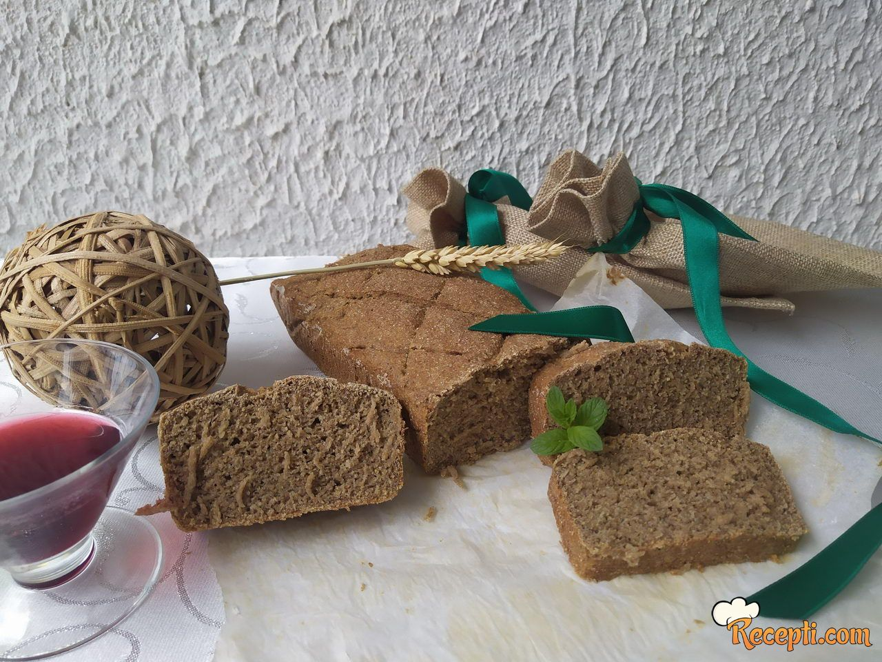 Ražani hleb koji se ne mesi