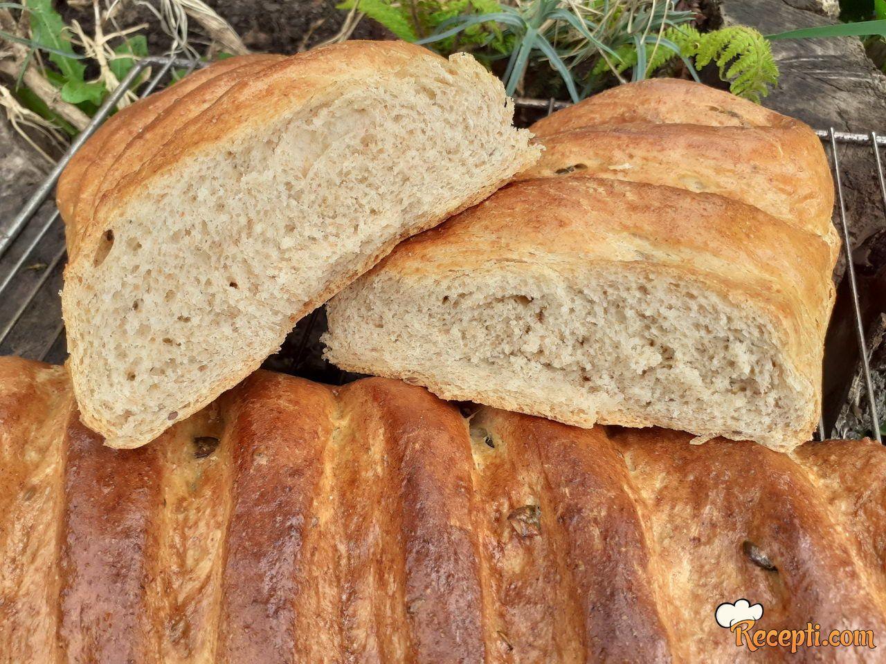 Poluintegralni hleb