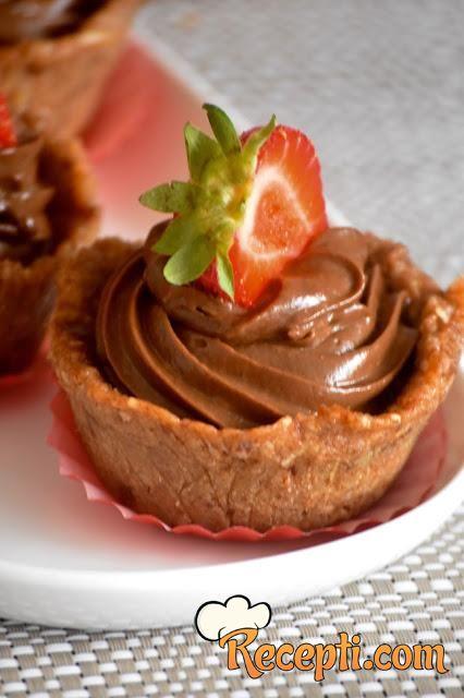 Čokoladne košarice (glutenfree)