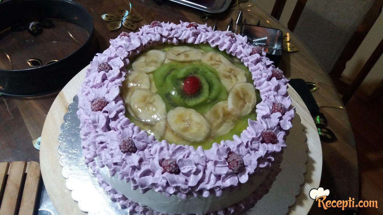 Torta voćna salata