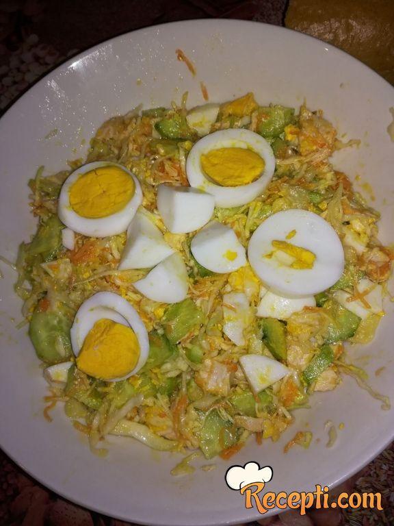 Obrok salata sa piletinom