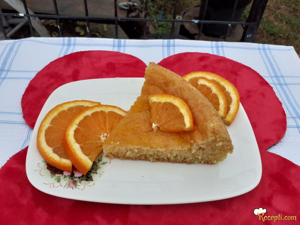Koh od griza sa pomorandžama