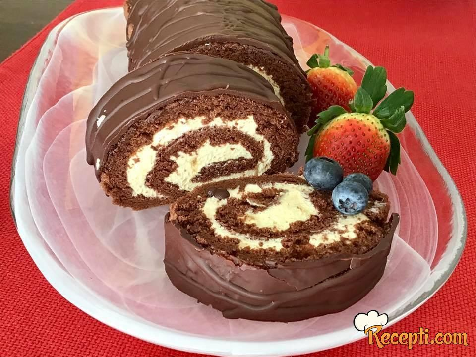 Čokoladni rolat (8)