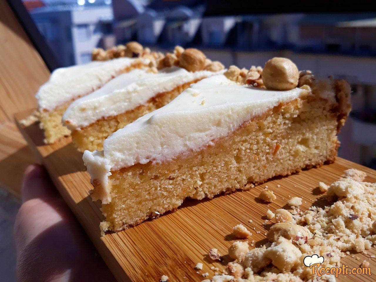 Torta sa šargarepom (Carrot Cake)