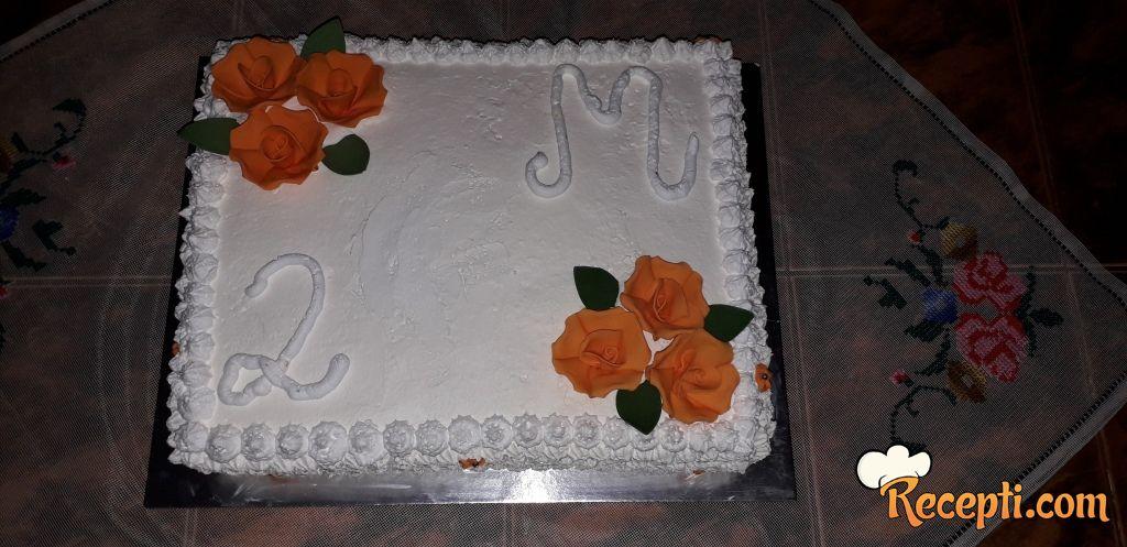 Torta sa fantom i petit keksom