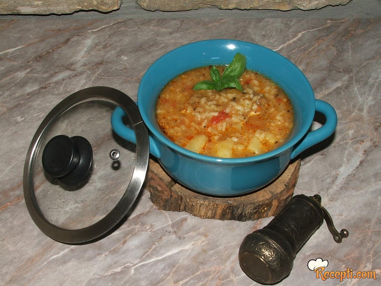 Varivo od krompira i pirinča