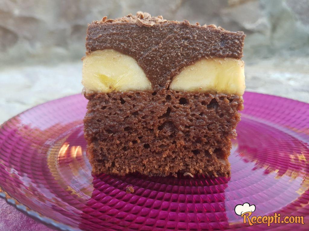 Čoko-banana kolač