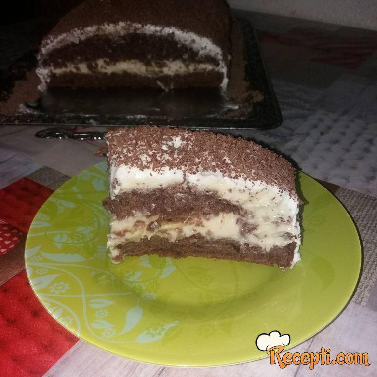 Ozgi banana krem torta